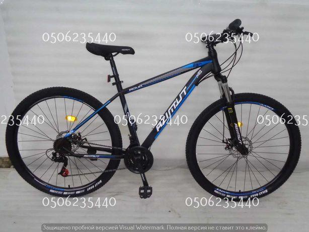 """Горный велосипед Azimut Aqua 29""""GFRD стальная рама 19""""  Shimano"""