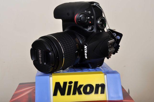 Nikon D3400+18x55 novo. Fatura/nif + AF 70x300 APO+Estojo
