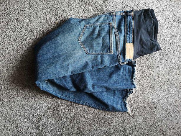 Spodnie ciążowe jeansy HM 36