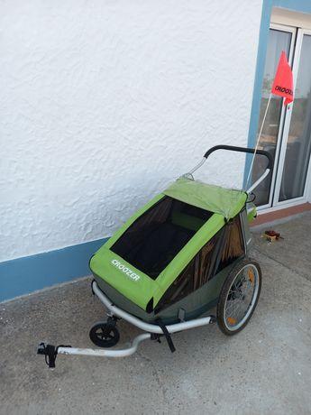 Croozer para 2 crianças / atrelado bicicleta / bike trailer