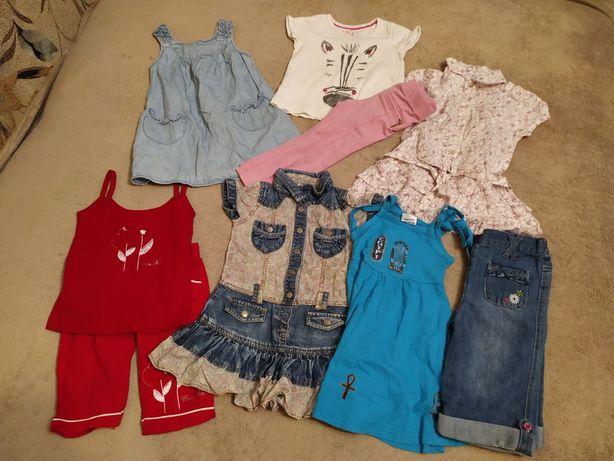 Пакет летней одежды для девочки 1-2 года