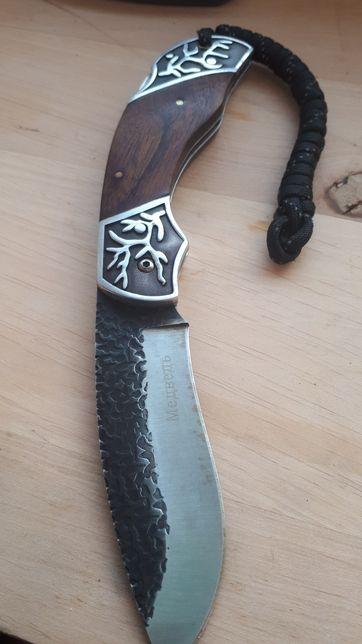 Rosyjski nóż myśliwski Składany