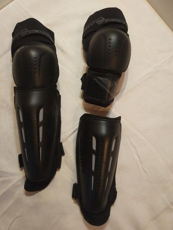Защита колено-голень Scott. Наколенники. Freeride, Bmx. Защита ног.