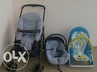Carrinho de transporte de bébé