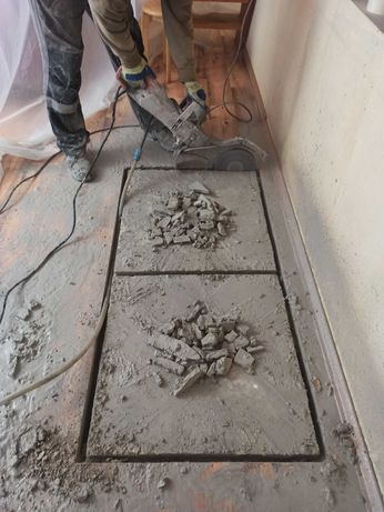 Алмазная резка бетона, Вырезать проем, Расширить дверь, Демонтаж