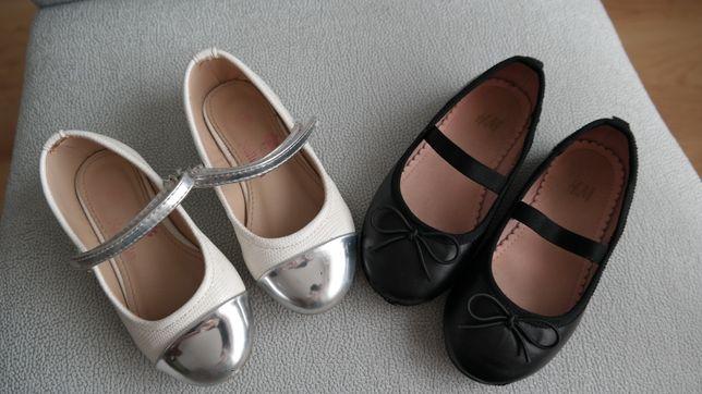 Balerinki baletki zestaw H&M i Nelli Blu