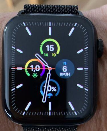 Apple Watch Seria 4 GPS+cCellular  44 mmkoperta stalowa  bransoleta me