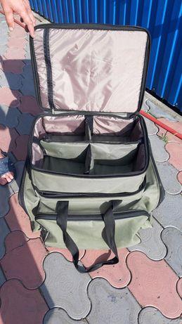 Карповая сумка под катушки