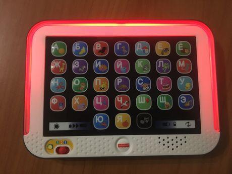 Умный планшет Fisher-Price Развивающая игрушка от 1 года до 4 лет