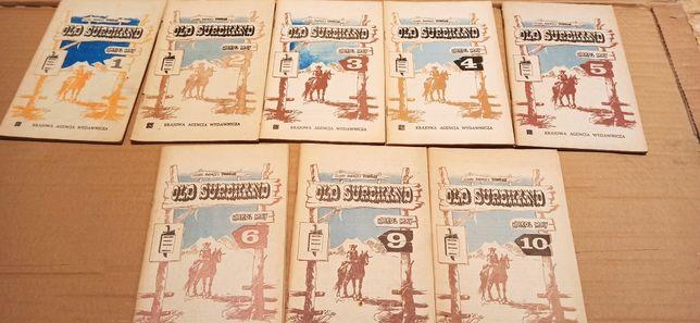 Old Surehand Karol May 8 szt zestaw
