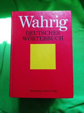 Słownik niemiecko-niemiecki. Wahrig idealny na studia!