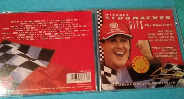 Michael Schumacher - Hits The Race Is On , CD 2000 rok , Germany