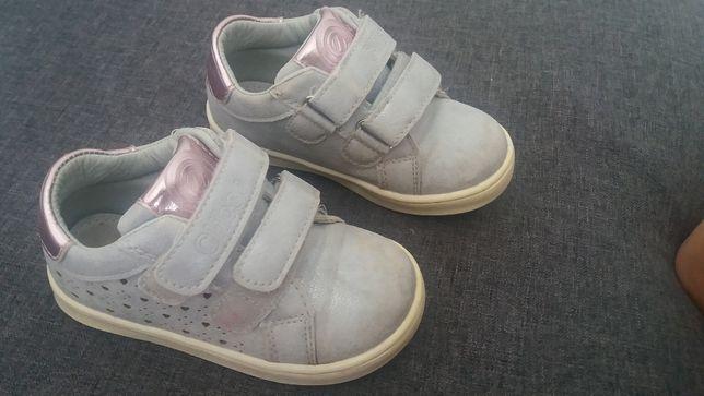 Buty na rzepy dla dziewczynki Clibee