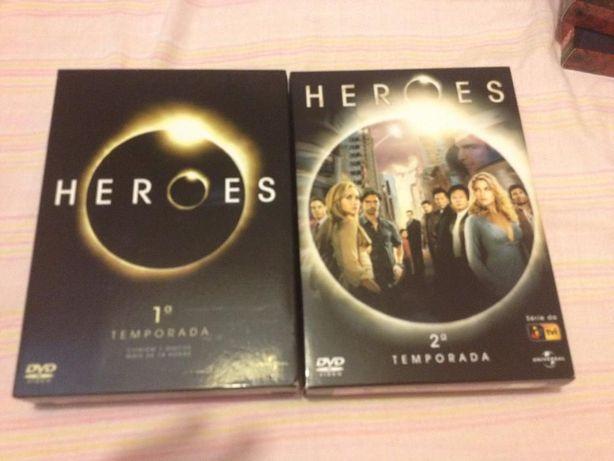 DVD série ''Heroes'' 1ª e 2ª temporada