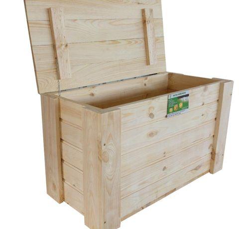 Kufer Drewniany Kuferek Skrzynia M 65x40x50 tanie Kazdy wymiar i wzór
