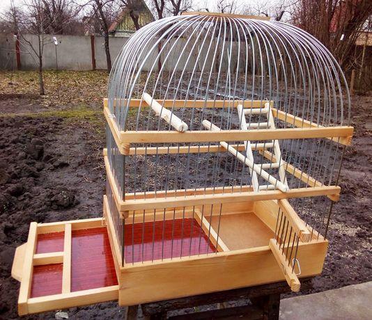 Клетка переносная для попугаев, хомяков.