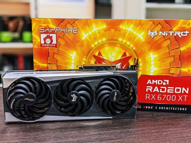Видеокарта Sapphire Nitro+Radeon RX6700 XT-12Gb/Гарантия/Опт/Рассрочка