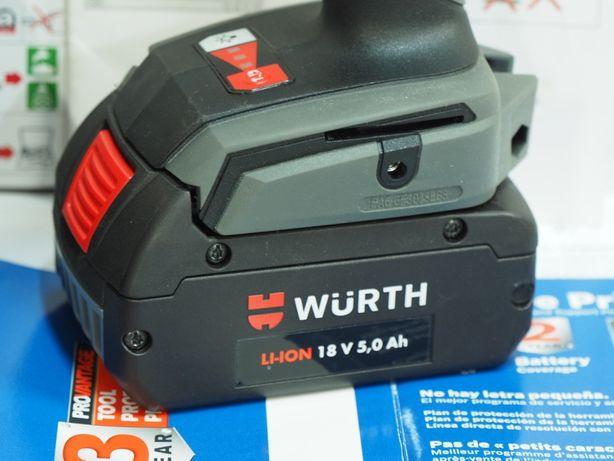 WURTH 18v 5Ah akumulator bateria klucz wkretarka młot pila