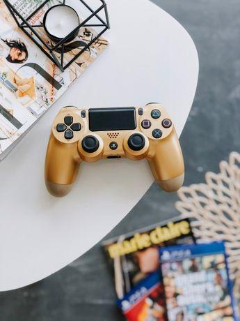 Dualshock 4 V2. Золотой. Джойстик на PS4