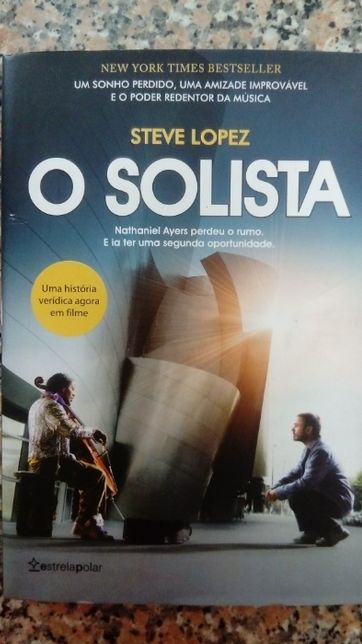 """Livro """"O Solista"""" de Steve Lopez"""