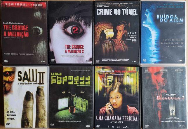 DVDs Filmes de Terror