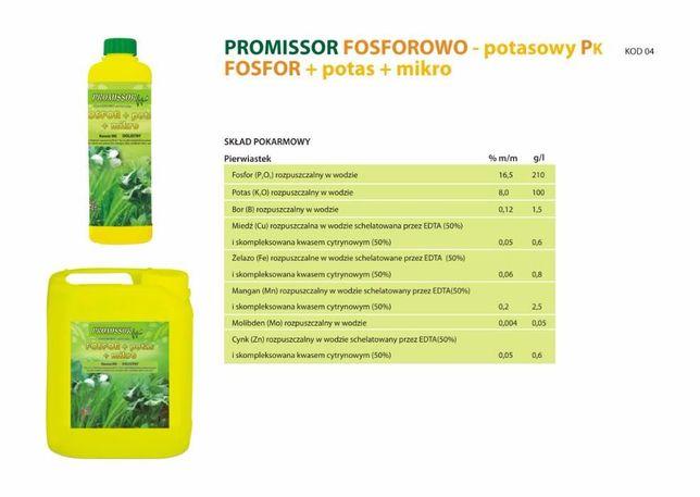 Nawóz dolistny Fosforowo - Potasowy PK 1000 L Mauzer