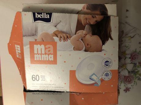 Вкладыши для кормления Bella mamma лактационные на липучке