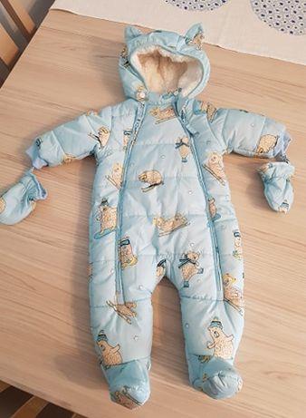 Zimowy kombinezon niemowlęcy 5 10 15