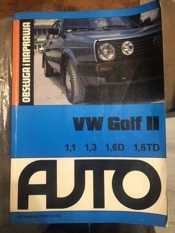 Ksiazka VW Golf obsluga i naprawa