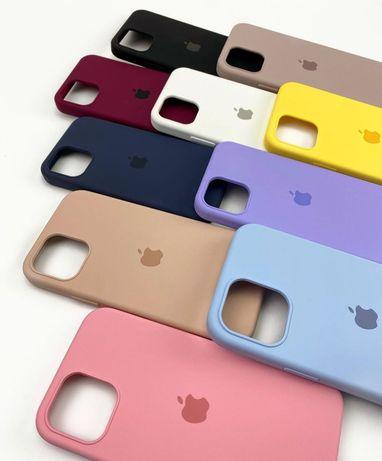 Силиконовый чехол на айфон Iphone 11 PLUS 5 7 8 12 XR MAX Xs pro SE 6