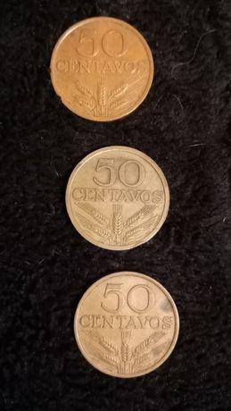 Moedas Cinquenta Centavos 74-76-78