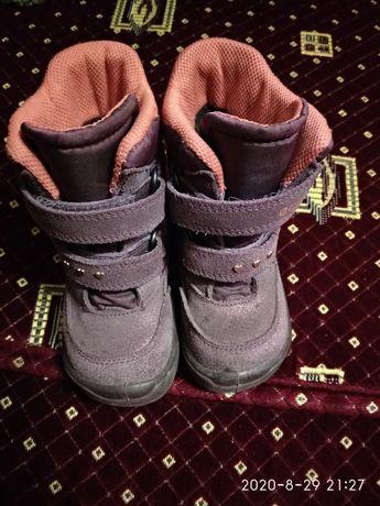Продам зимние ботинки сапоги Ecco Gore-tex. 1500рублей
