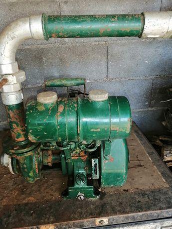 Motor de rega, antigo