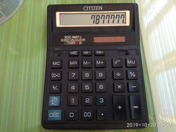 Калькулятор CITIZEN SDC-888T неробочий