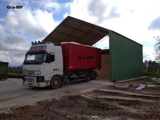 Wiata rolna konstrukcja OCYNKOWANA 8x13m skręcana garaż Hala Magazyn