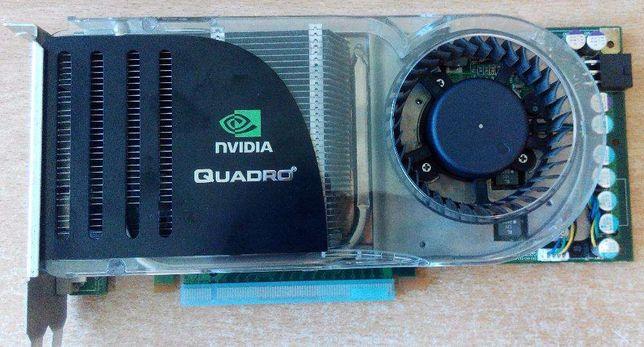 PNY NVIDIA Quadro FX 4600 VCQFX4600-PCIE-PB 768MB 384-bit GDDR3 PCI Ex