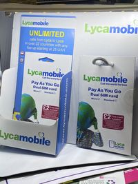 LycaMobile Starter UK co.uk Wielka Brytania England SIM Card Prepaid