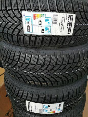 4x 205/55R16 Bridgestone Blizzak LM005 91H zima 2020 rok