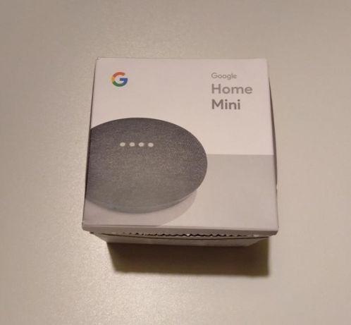 Мини-колонка Google Home Mini Charcoal (GA00216-NO) новая