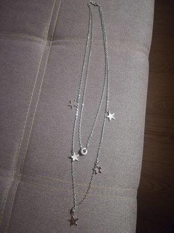 Naszyjnik z gwiazdkami