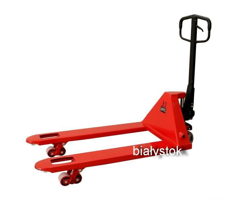 NOWY - wózek paletowy - paleciak wideły 1150mm 2,5T udźwig. poliuretan