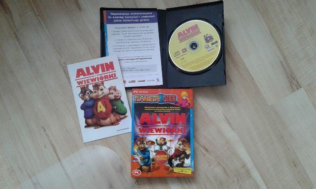 Alvin i wiewiórki gra wersja pudełkowa, PL