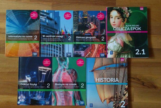 Pakiet podręczników do klasy 2 szkoły ponadpodstawowej
