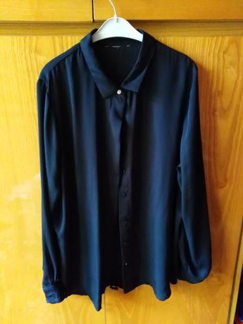 Czarna elegancka koszula L/XL
