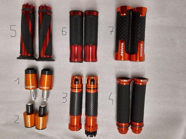 MANETKI NOWE Gumy kierownicy uniwersalne 22mm