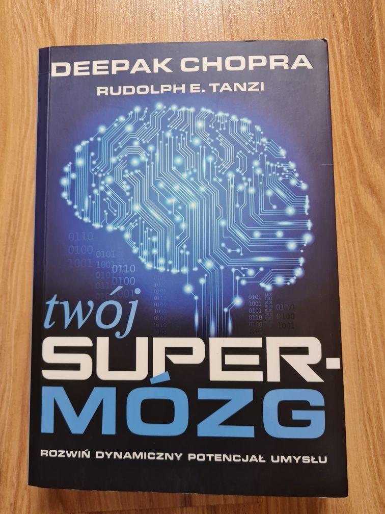 Twój super mózg książka Deepak Chopra