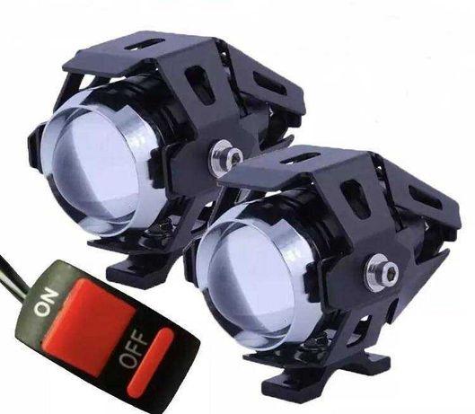 Farois para Motos auxiliares LED / Novo