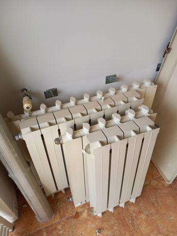 Conjunto 4 radiadores + toalheiro Urgente