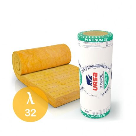 Wełna mineralna URSA 100mm PLATINUM 0,32 5m2 Radom Makowiec