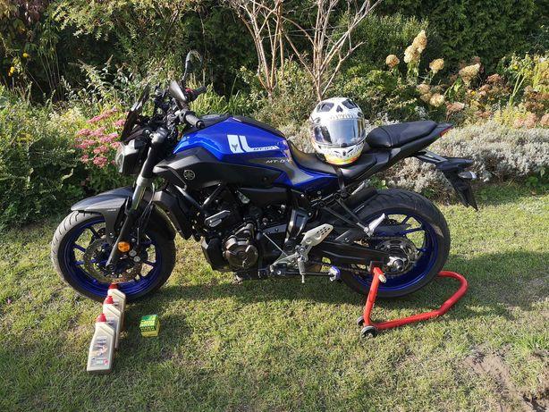 MT 07 2017 ABS Polski salon od motocyklisty